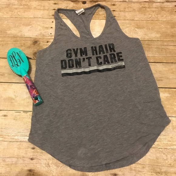 3c547892 PINK Victoria's Secret Tops | Gym Hair Dont Care Vs Pink Tank Top ...